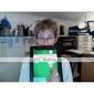 altamente sensative touchpad stilo capacità per iPad e iPhone (bianco)
