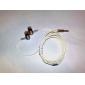 in-ear stereo oortelefoon (oranje)