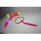 LED Flying Helicopter Umbrella Jet Rubber Dragonfly (7 colors LED / 10 Sets)