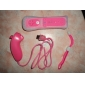 Remote MotionPlus and Nunchuk Controller with Case for Wii/Wii U (Pink)