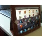 Protective Hard PU Leather Case & Stand for iPad 2/3/4