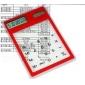 מחשבון שולחני שקוף משטח מגע סולרי (CEG173)
