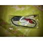 3.5mm Audio Jack (Female) to RCA Audio Cable (20cm)