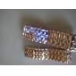 Lava Style Blue LED Digital Couple Watch(Silver)