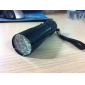 Torcia LED mini 9-6, in alluminio
