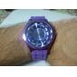 Relógio Quartz Unisexo (Roxo)