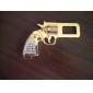 Boucle de Ceinture de Sécurité en Acier Inoxydable Forme Pistolet