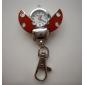 Оригинальные часы-брелок