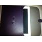Custodia rigida in pelle PU + supporto per iPad - Nero