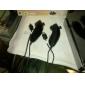 Günstige Fernbedienung und Nunchuk-Fernsteuerung für Ihre Nintendo Wii (schwarz)