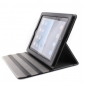 Protective PU Leather Case for iPad 2/3/4 (black)
