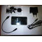 3600mAh Aluminium Solar-Ladegerät mit Taschenlampe für iPhone / iPod / HTC / Samsung / andere Handys