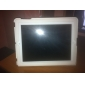 Ultra-Slim Protective PU Leather Case & Stand for iPad 2/3/4 - White
