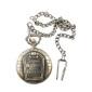 antique la tête de quartz d'accueil collier chaîne de montre