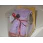 serviette en forme de chien (couleurs assorties)
