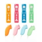 Protective Silicone Case for Wii/Wii U Remote and Nunchuk Controller (4-Pack, Assorted Colors)