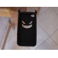 Devil Protective Silica Gel Case for iPhone4 - Black