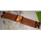 Женские Модные часы Часы-браслет Японский Кварцевый Имитация Алмазный Стразы Медь Группа Блестящие Элегантные часы Люкс Золотистый