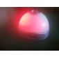 датчик касания красочный свет цифровой время часы проектор (белый, 3xAAA)