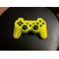 PS3를위한 재충전 용 USB 무선 컨트롤러 (노랑)