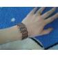 칼로 비 바리 - 역 모자이크 체코어 시추 여성 팔찌 시계