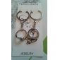 Stainless Lovers keychains (Rings / 2-Piece Set)