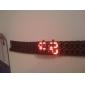 Stijlvol Digitaal Herenhorloge Met LED-Tijdsweergave