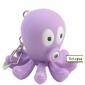 Oktopus Schlüsselanhänger mit LED-Taschenlampe und Sound-Effekte, 2 zufällige Farben