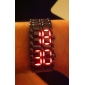 Men's Watch Lava Style Red LED Digital Calendar