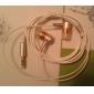Стерео наушники-вкладыши (оранжевый)