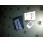 표준 SIM 카드 어댑터 (흰색)에 마이크로 SIM 카드