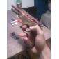 Pistola de Madera con Disparador de Hule (Juguete)