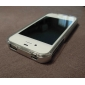 Silica Gel Protective Case with Frame for iPhone 4, 4S