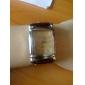 Женские Модные часы Кварцевый PU Группа Черный / Белый / Красный / Коричневый бренд-