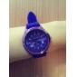 Reloj Pulsera Quartz Crisantaneo (Púrpura)