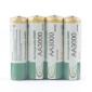 Uppladdningsbart Batteri-pack 3000mAh AA Ni-MH  (4-pack)