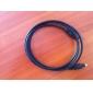 prémio de áudio digital óptico toslink cabo de 1,8 m