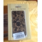 Carving Pattern Bamboo Case for iPhone 4 / 4S