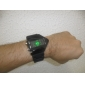 Masculino Relógio Esportivo Relógio de Pulso Relogio digital Digital LED LCD Calendário Cronógrafo alarme Silicone BandaPreta Branco Azul