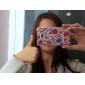 Housse de protection rigide pour Samsung i9100 (fleur et l'oiseau)