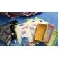 Bumper Frame Case for Apple iPhone 4 with Metal Button(Green - Translucent)