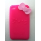 Protective Sillica Gel Soft Case for Touch 4 (Peach)