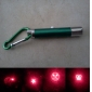 5 in 1 1mw 650nm Projective Red Laser Pointer with 2*LED and Keychain Green