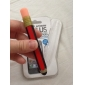 Pencil Shaped Silicone Touchpad Stylus Pen (Red)