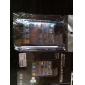 ฟิล์มกันรอยหน้าจอด้านหน้าและด้านหลังสีใสพร้อมผ้าทำความสะอาดสำหรับ iPhone 4/4S