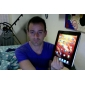 satinato specchio lcd proteggischermo per iPad 2