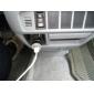 Carregador Automotivo com 2USB para iPad/iPad 2/iPhone/iPod/Outros Celulares (Preto)
