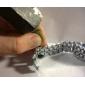 Masculino Relógio Esportivo Quartz LED Aço Inoxidável Banda Prata