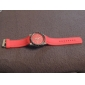 Unisex Quartz Analog Silicone Band Wrist Watch (Assorted Colors)