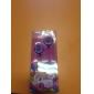 улыбкой лицом в уши наушники стерео для mp3/mp4 (фиолетовый)